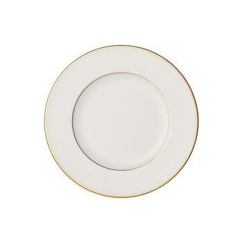 Anmut Gold plato para pan, diámetro de 16 cm, blanco/oro