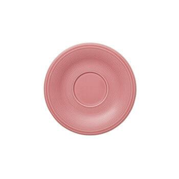 Color Loop Rose platillo para taza de café de de 15 x 15 x 2 cm