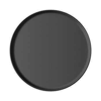 Iconic plato universal, negro, 24 x 2 cm