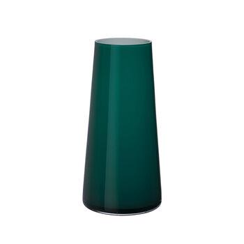 Numa jarrón grande Emerald Green