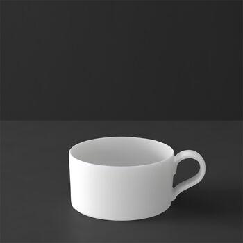 MetroChic blanc taza de té, 230ml, blanco