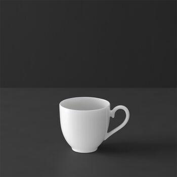 White Pearl taza sin platillo para moca o expreso