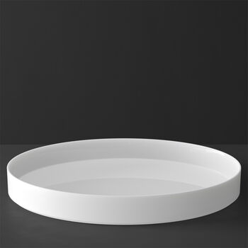 MetroChic blanc Gifts Centro de servir / decorativa 33x33x4cm