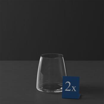 MetroChic vaso de agua, 2 unidades, 110 cm, 565 ml