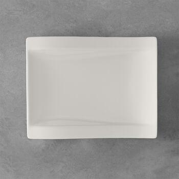 NewWave plato de desayuno rectangular 26 x 20 cm