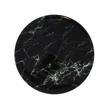 Marmory plato llano Black, 27 x 27 x 1,5 cm