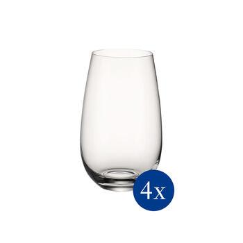 Entrée vaso, 620 ml, 4 unidades