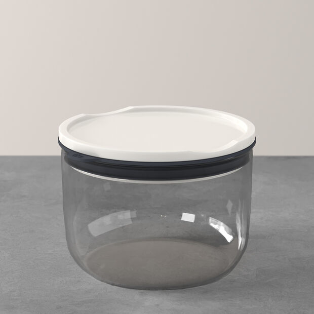 ToGo&ToStay tupper, 13×9,5cm, redondo, gris, , large