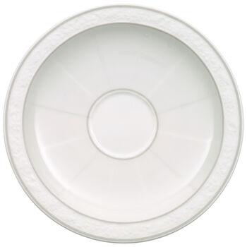 Gray Pearl platillo para taza de moca o expreso