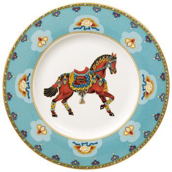 Samarkand Aquamarin plato de desayuno
