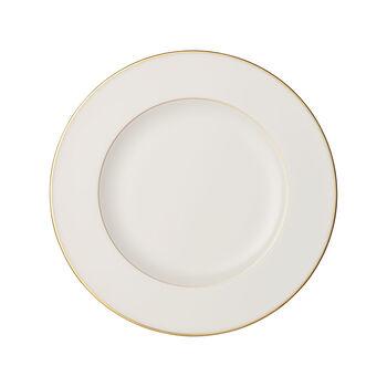 Anmut Gold plato llano, diámetro de 27 cm, blanco/oro