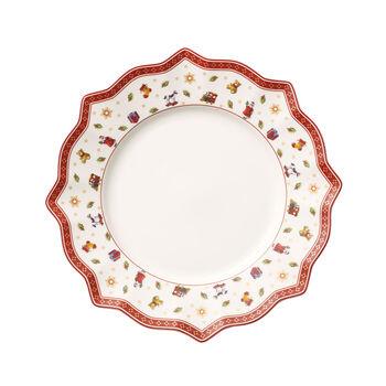 Toy's Delight plato llano blanco