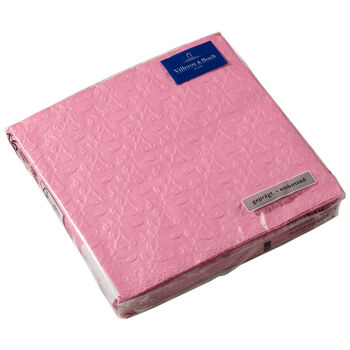 Servilletas de papel Caffe Club Floral Touch of Rose, 20 unidades, 33x33cm