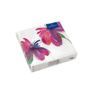 Servilletas de papel Artesano Flower Art Cocktail, 20 unidades, 25x25cm
