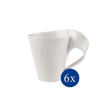 NewWave Caffè taza grande de café, 300 ml, 6 unidades