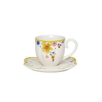 Spring Awakening taza de café con platillo, 260ml