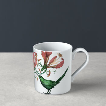 Taza grande de café Avarua, 300 ml, blanco/multicolor