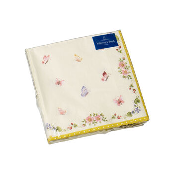 Easter Accessories servilletas, mariposa, 25 × 25 cm, 20 unidades