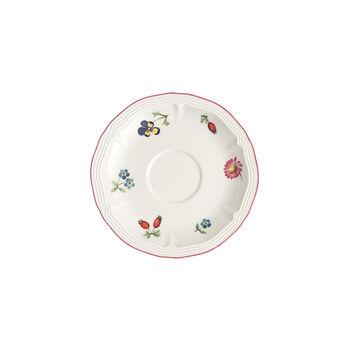 Petite Fleur platillo para taza de moca y expreso