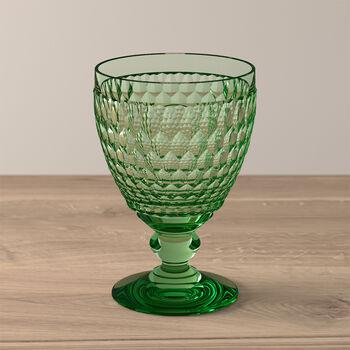 Boston Coloured Vaso de agua Green