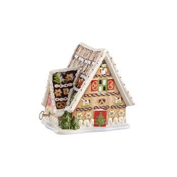 Christmas Toys casa de jengibre con caja de música