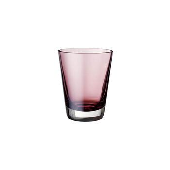 Colour Concept vaso de agua, vaso largo o vaso para cócteles de color borgoña de 108 mm