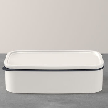 ToGo&ToStay tupper, 20×13×6cm, rectangular, blanco
