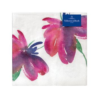 Servilletas de papel Artesano Flower Art Lunch, 20 unidades, 33x33cm
