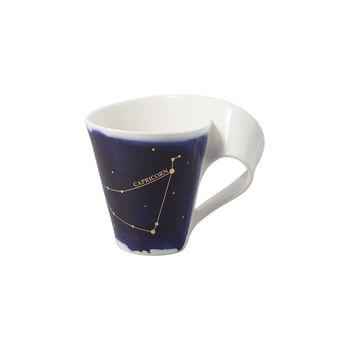 NewWave Stars taza con motivo de Capricornio, 300 ml, azul/blanco