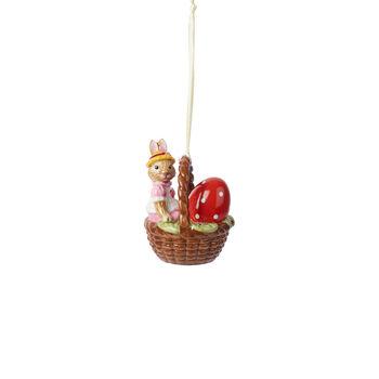 Bunny Tales cesta de adorno Anna