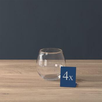 Entrée vaso de agua, 570ml, 4 unidades