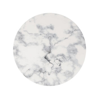 Marmory plato llano White, 27 x 27 x 1,5 cm