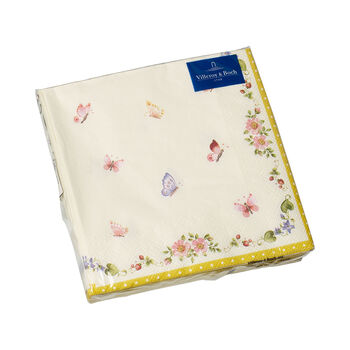 Easter Accessories servilletas, mariposa, 33 × 33 cm, 20 unidades