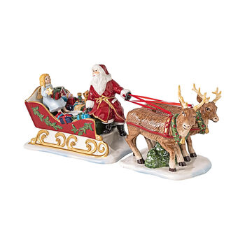 Christmas Toys figura nostálgica de trineo, 36 x 14 x 17 cm