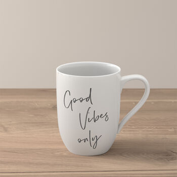"""Statement taza """"Good Vibes only"""""""
