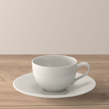 New Cottage Basic taza café con plato 2 piezas