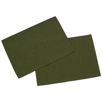 Textil Uni TREND Salvamant.verde osc.J2 35x50cm