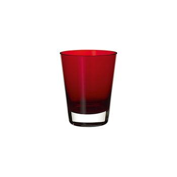 Colour Concept vaso de agua o cóctel Red