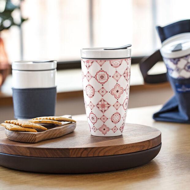 To Go Rosé taza grande de café para llevar, , large