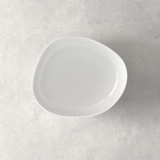 Organic White plato hondo, blanco, 20 cm, , large