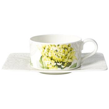 Quinsai Garden Taza té con plato