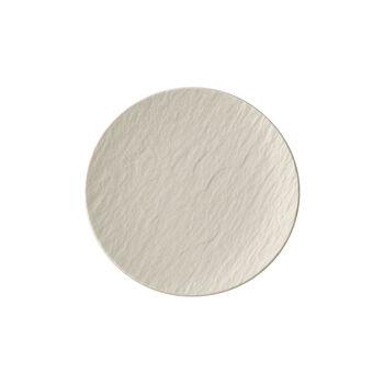 Manufacture Rock blanc Plato fruta / queso / pan 15,5x15,5x2cm