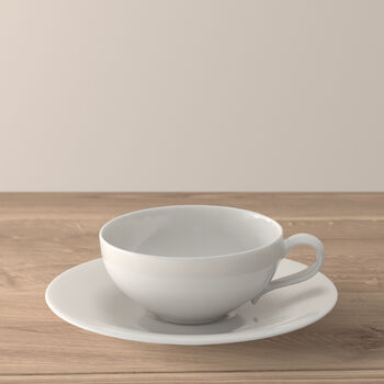 New Cottage Basic Taza de té con plato