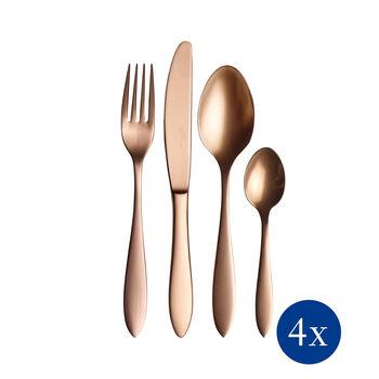Manufacture Cutlery cubertería de mesa de 16 piezas