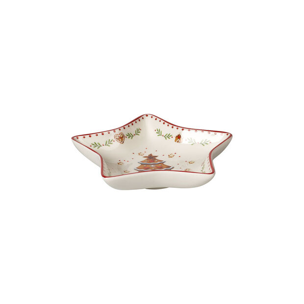 Winter Bakery Delight Star bowl small, Gingerbread 13cm, , large