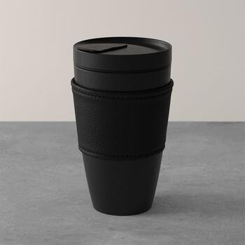 Manufacture Rock Coffee To Go vaso, 350ml, negro mate