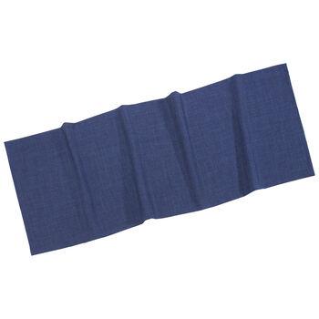Textil Uni TREND Cam.de mesa azul marino 50x140cm