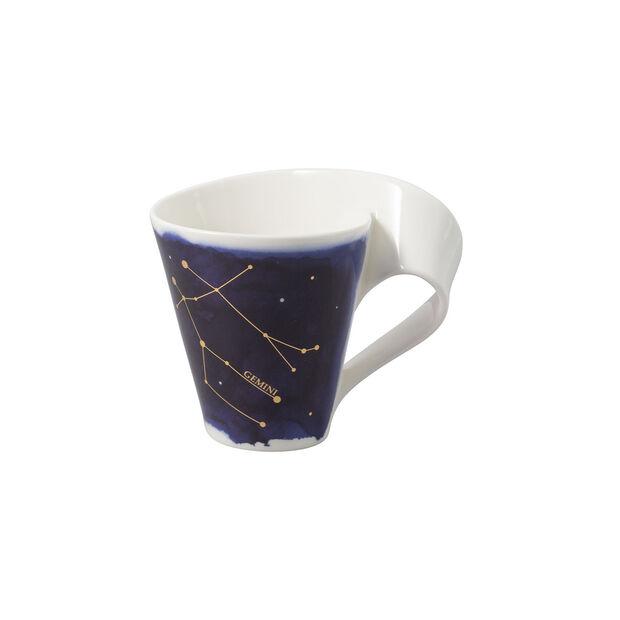 NewWave Stars taza con motivo de Géminis, 300 ml, azul/blanco, , large