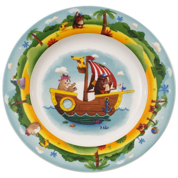 Plato llano infantil Chewy's Treasure Hunt, , large