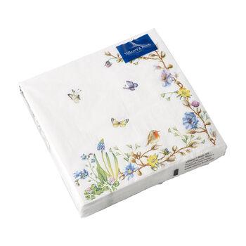 Easter Accessories servilletas, zarcillo de flores, 33×33cm, 20unidades